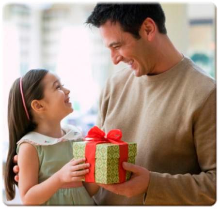Подарок папе от взрослой дочери